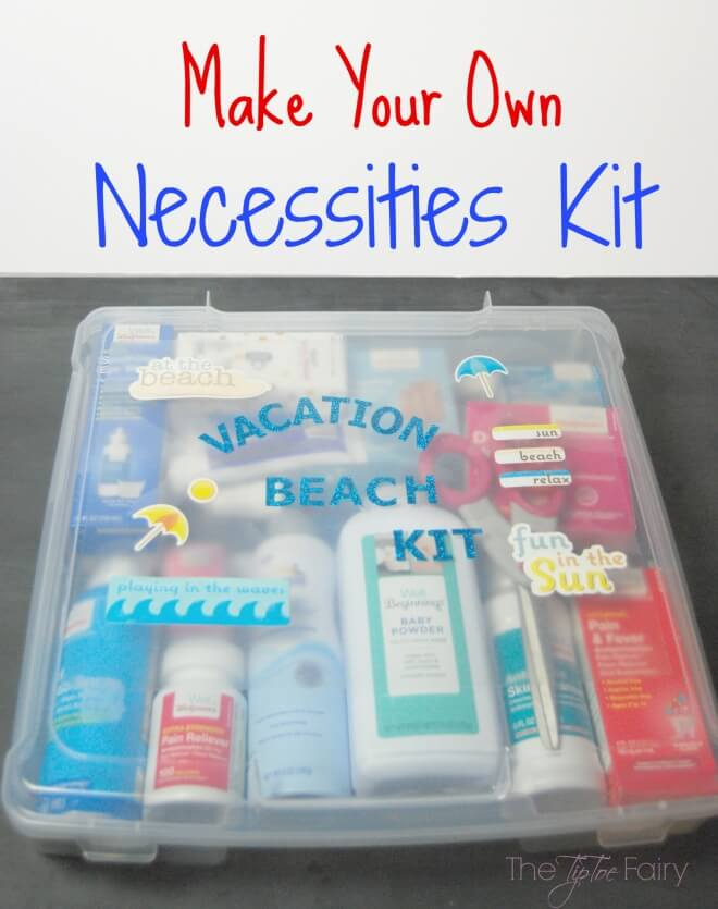A DIY Beach Essentials Kit will mean you're prepared whenever you want to hit the beach