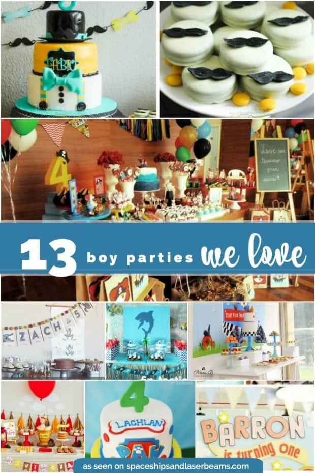 13 Boy Parties We Love