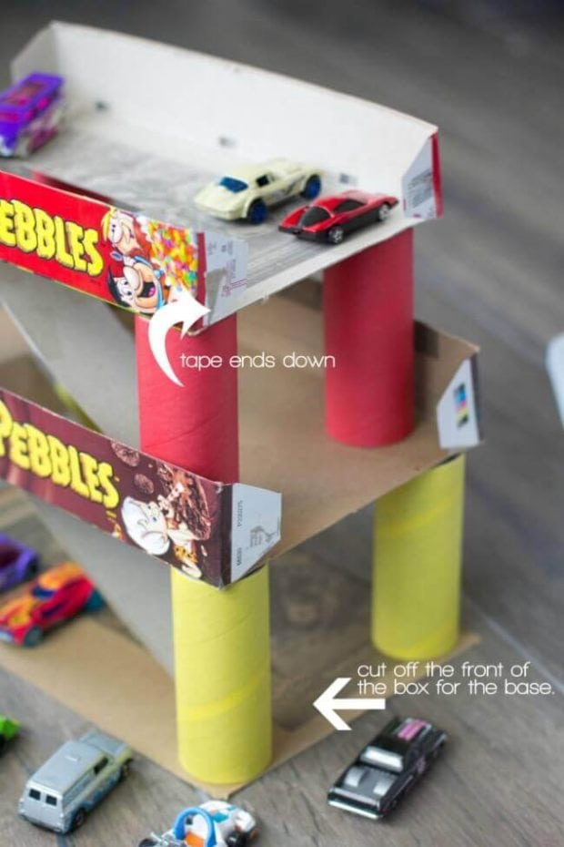 Cereal Box Craft Hacks