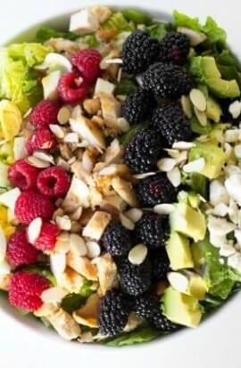 Easy Chicken Cobb Salad Recipe