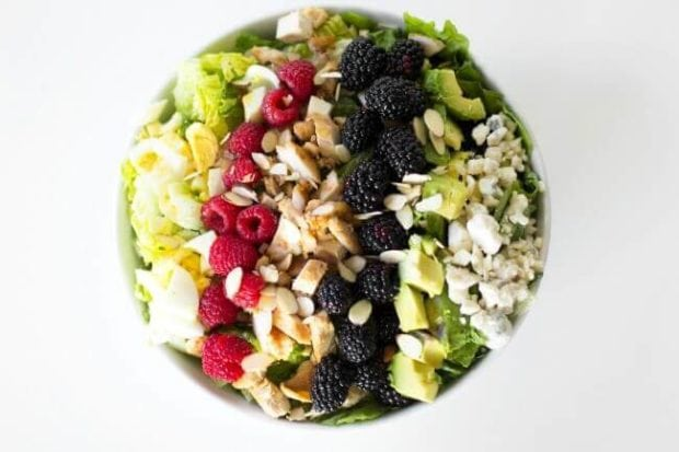 Easy Chicken Cobb Salad Recipe