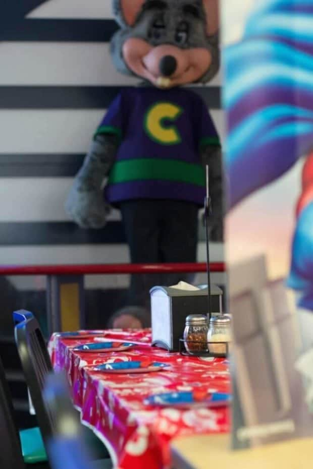Chuck E Cheese Birthday Party for Kids