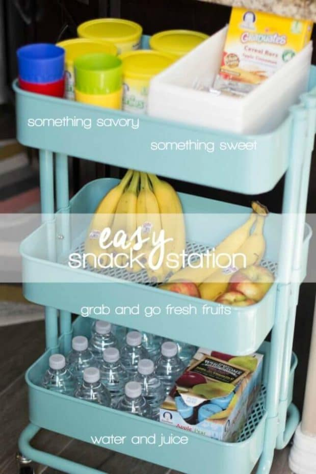 Easy Snack Station Ideas