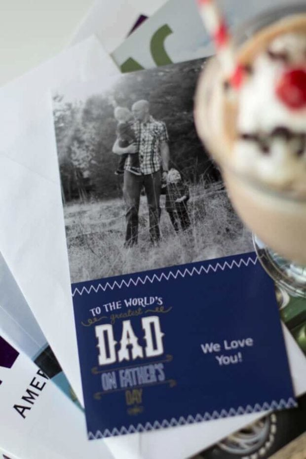 Father's Day Photo Card Idea