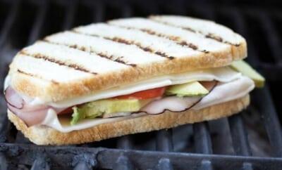 Summer Party Ideas: Grilled Sandwich Bar Menu