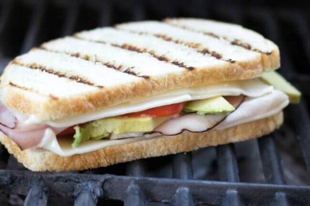 Grilled BBQ Sandwiches