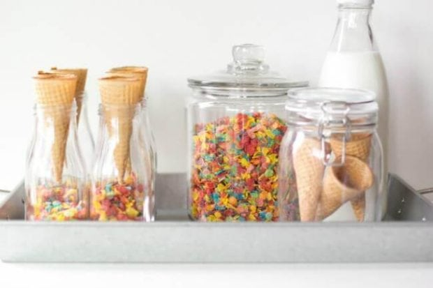 How to Make Fruit Pebbles Ice Cream