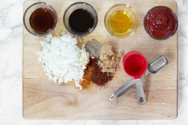 Ingredients for Homemade BBQ Sauce