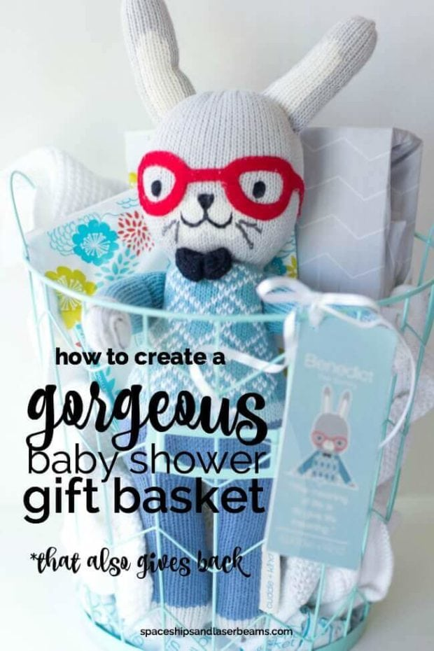 How to Create a Gorgeous Baby Shower Gift Basket