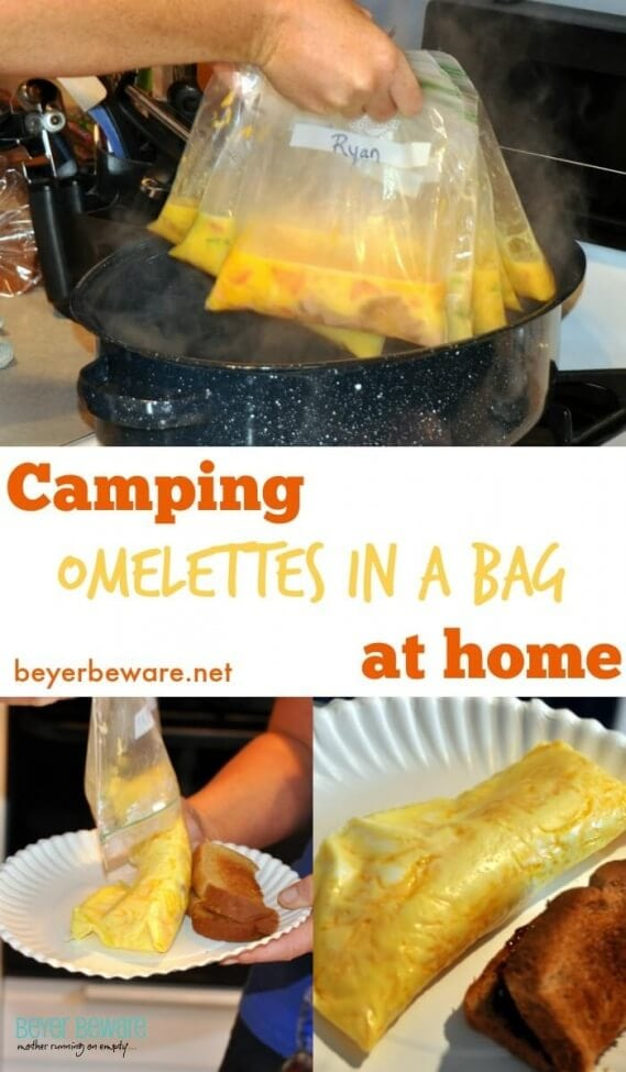 No Mess Camping Omelettes