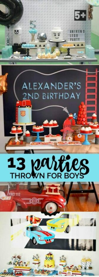 13 Parties for Boys