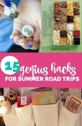 Genius Hacks for Summer Road Trips