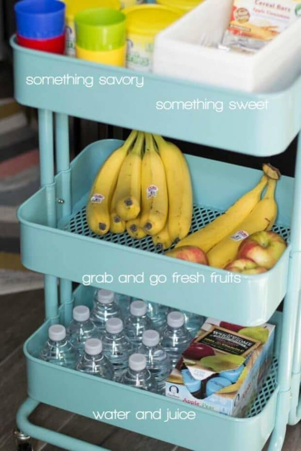 Toddler Snack Station Ideas