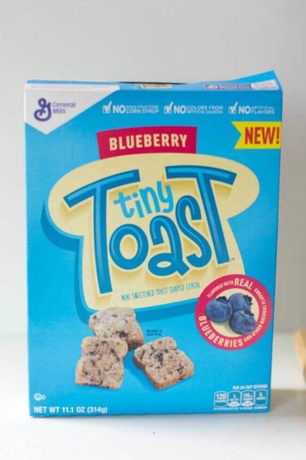 Blueberry Tiny Toast