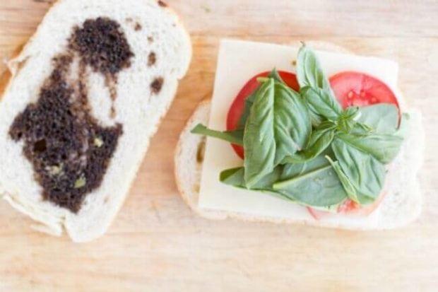 Tomato Basil Caprese Sandwich