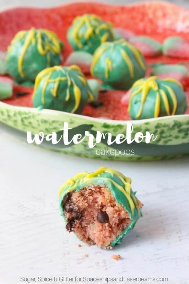 watermelon cakepops party food