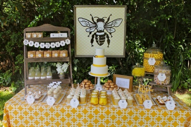 Boy's Bee Themed Birthday Party