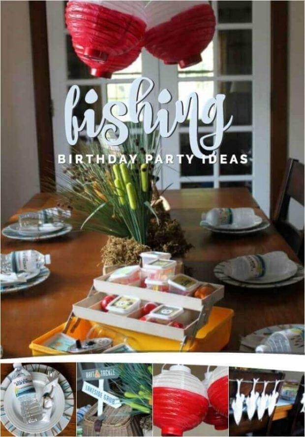 Boy's Fishing Birthday Party