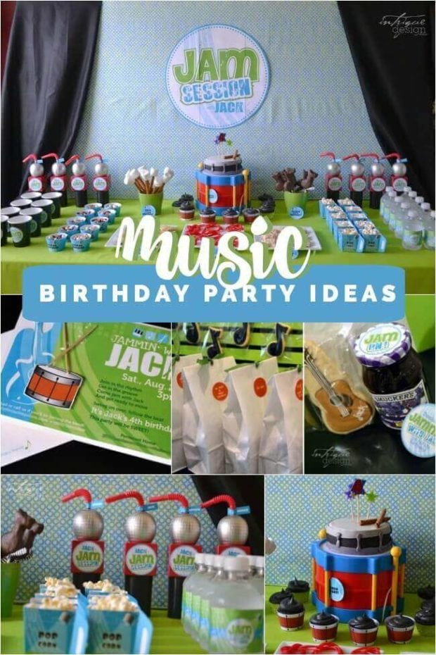 Music Birthday Party Ideas
