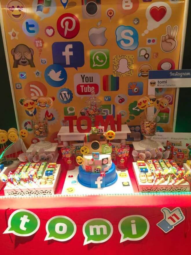 Social Networking Birthday Party Theme