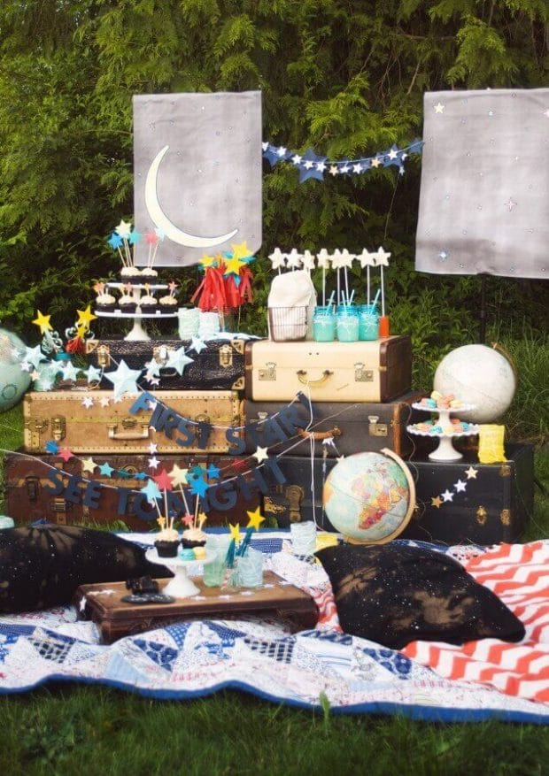 Star Gazing Birthday Party Ideas