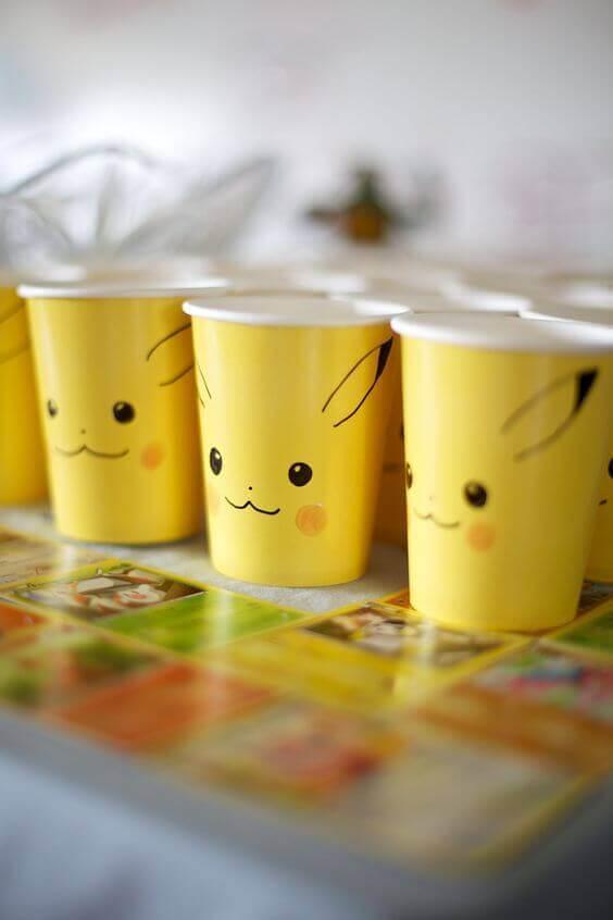 Pikachu Cups