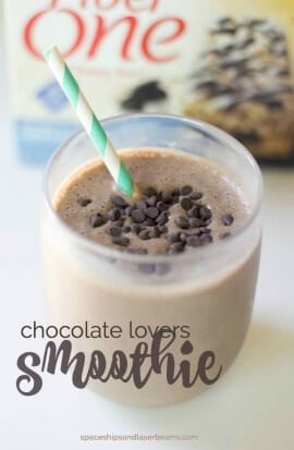 Chocolate Lovers Smoothie