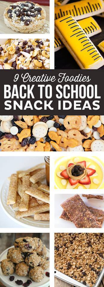 Creative Back to School Food Ideas