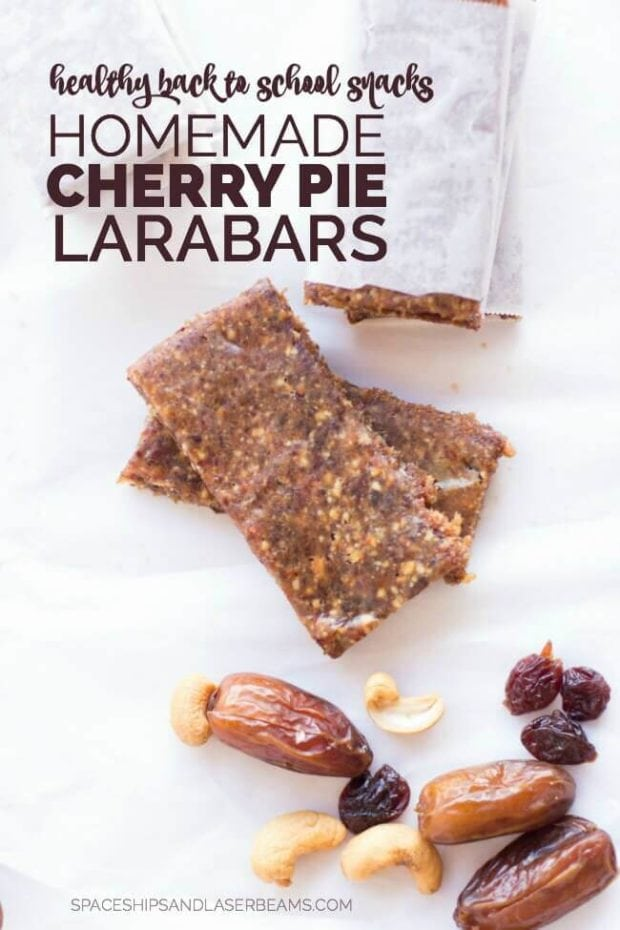 Homemade Cherry Pie LARABARS