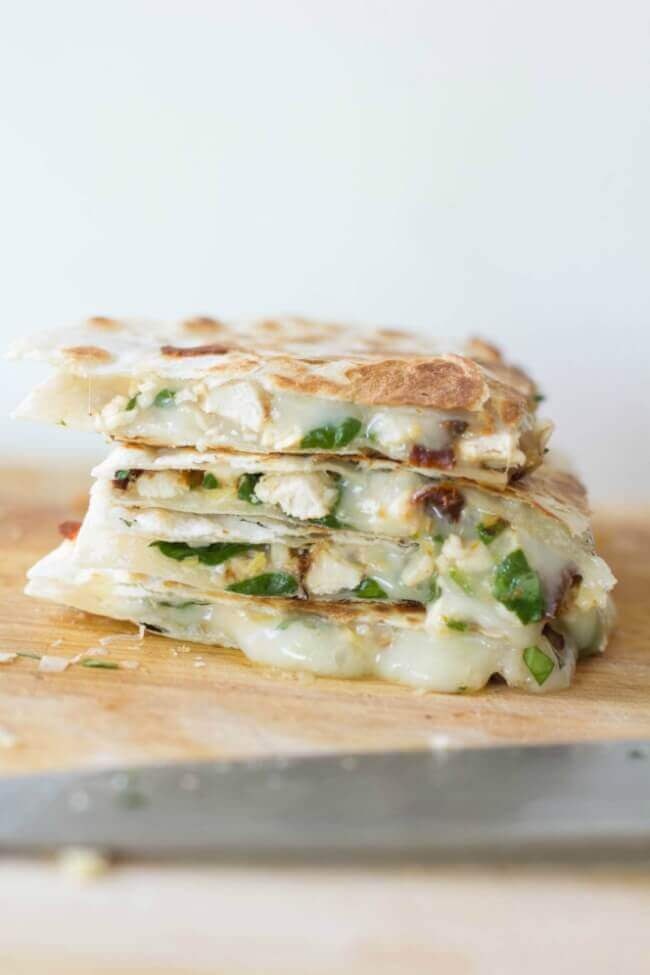 Sun Dried Tomato Quesadilla