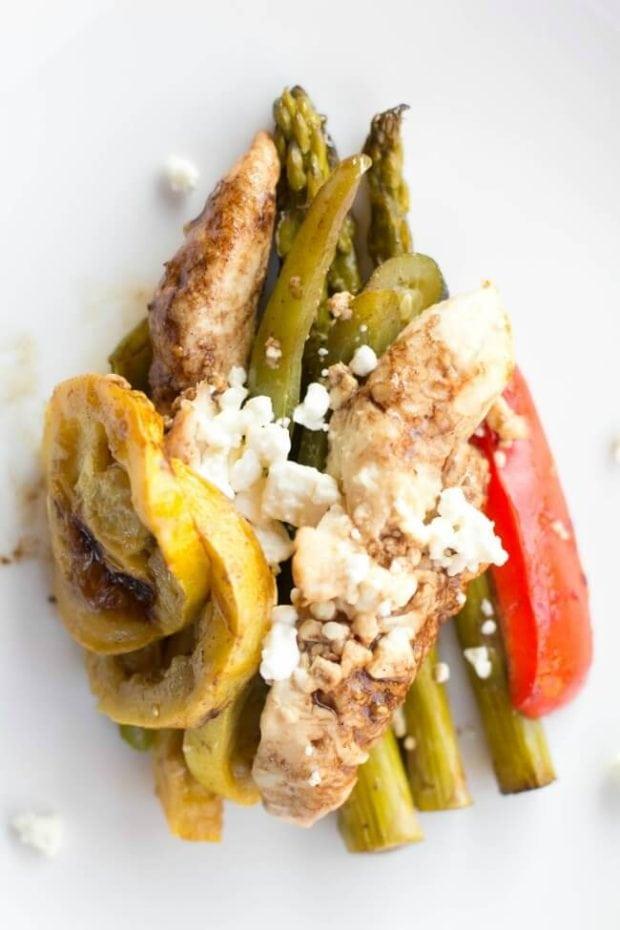 Grilled Balsamic Chicken