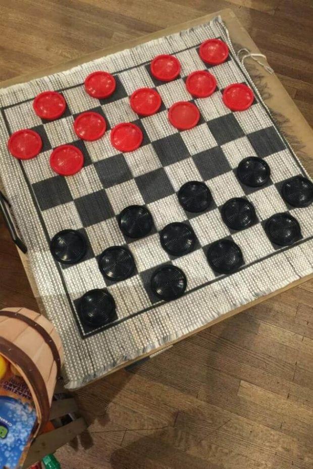 Checkers at Cracker Barrel