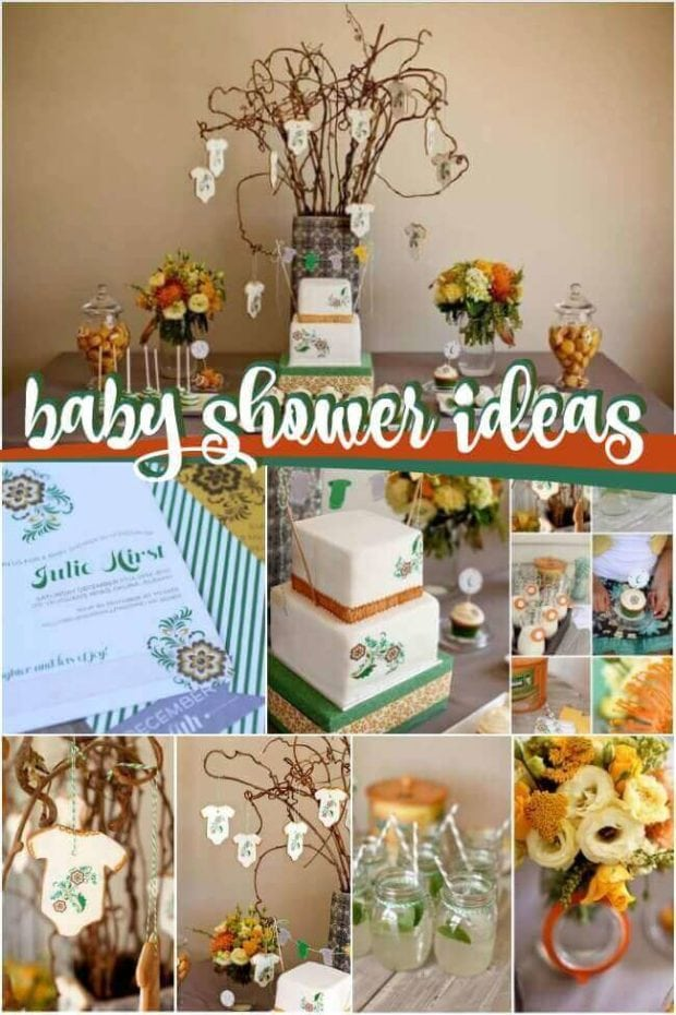Beautiful Baby Shower Ideas