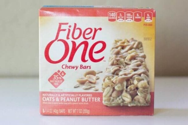 Fiber One Oats & Peanut Butter Bars