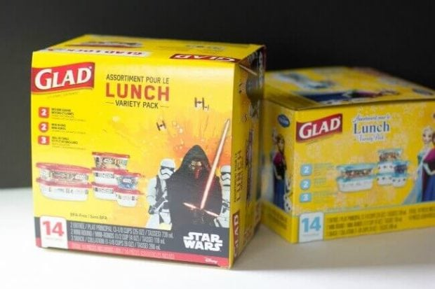 Glad Star Wars Lunch Boxes