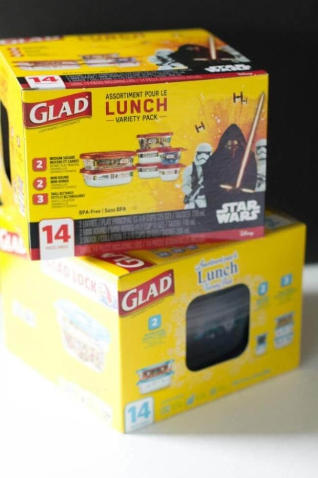 Glad Star Wars Containers