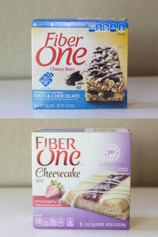 Flavor of Fiber One Bars