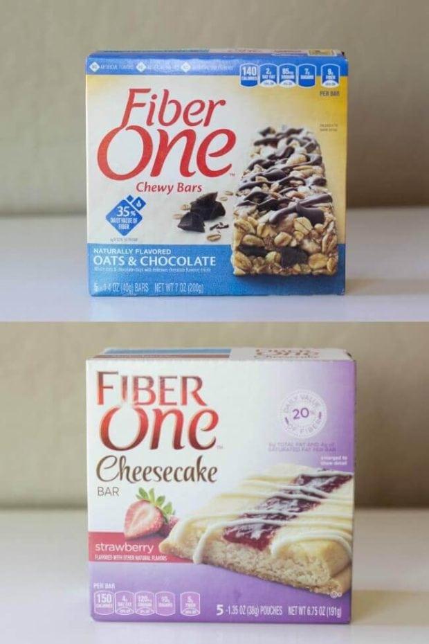 Flavor of Fiber One Bars