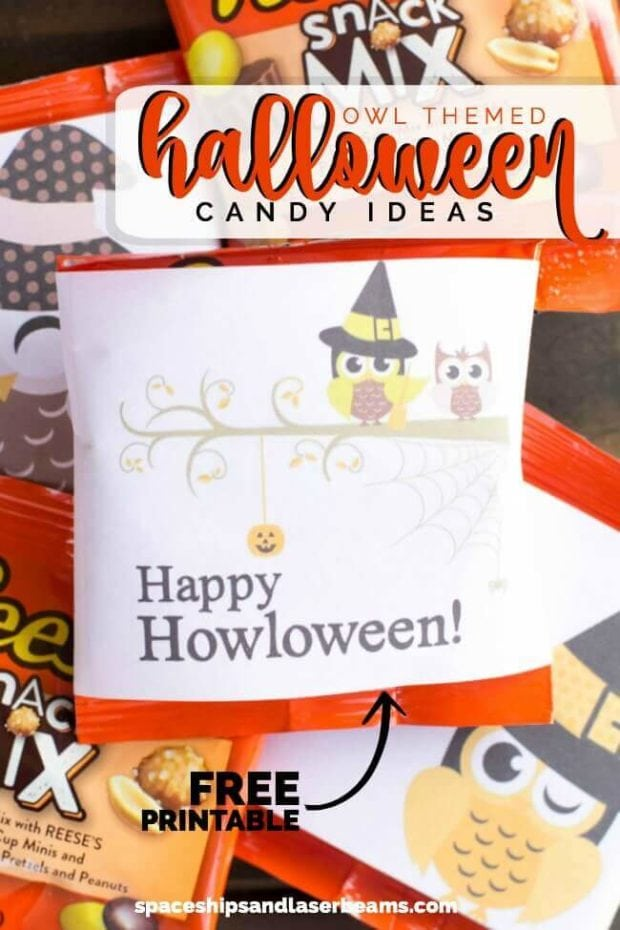 Happy Halloween Candy Ideas + Free Printable