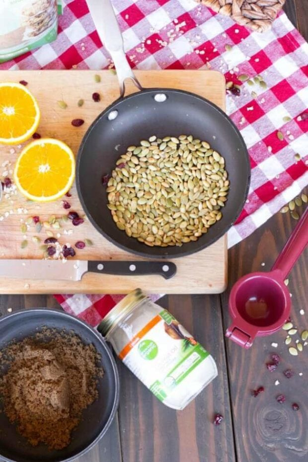 Orange Cranberry Granola Recipe