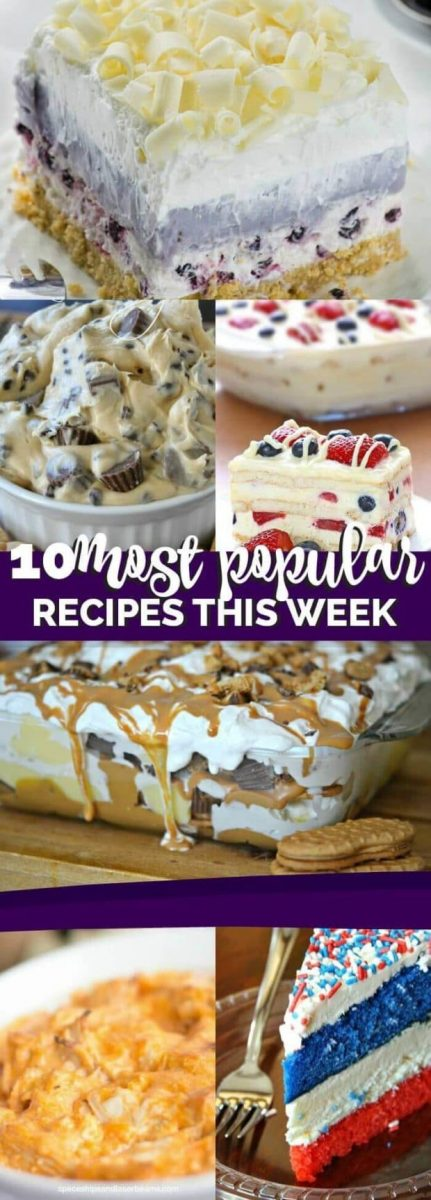 10 Most Popular Recipes This Week: 7/1/2016