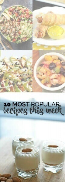 Most Popular Recipes this week