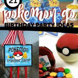 Pokemon Go Birthday Party Ideas