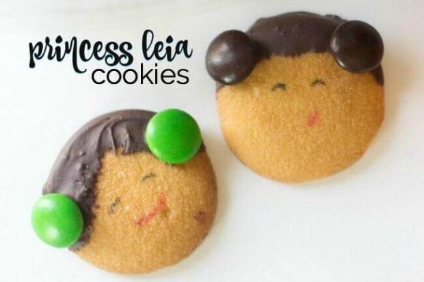 Princess Leia Cookies