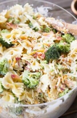 Ranch & Veggie Pasta Salad Recipe