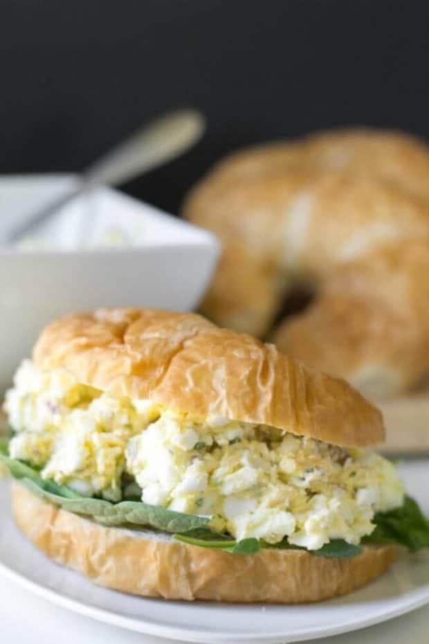 Recipe for Egg Salad Sandwiches