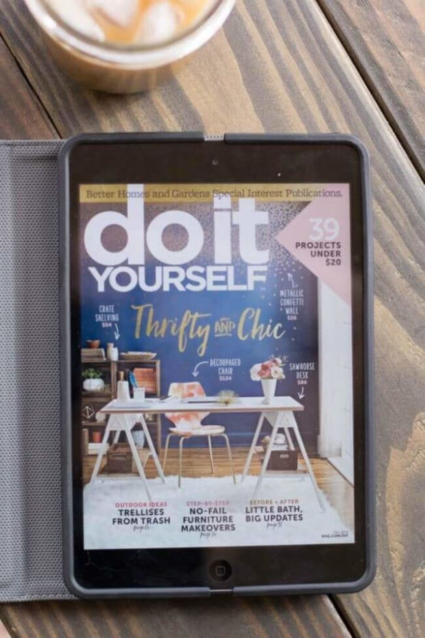 Do It Yourself Magazine Ideas on Texture