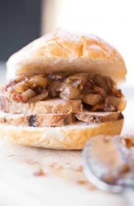 Unique Pork Tenderloin Burger Recipe
