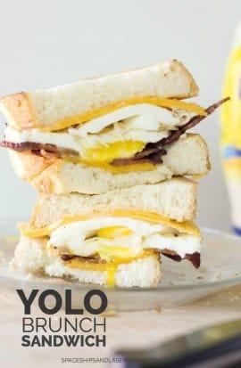 YOLO Brunch Sandwich Recipe