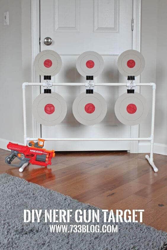 DIY Nerf Gun Target